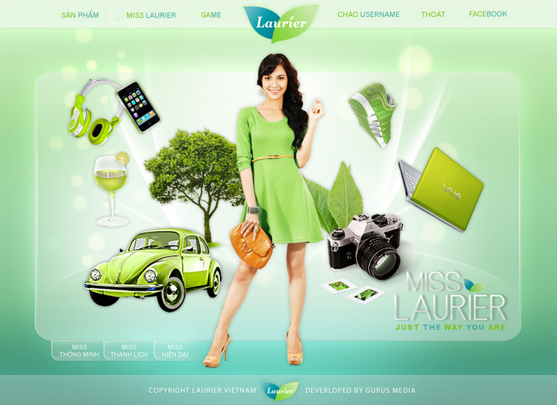 Miss Laurier - Homepage