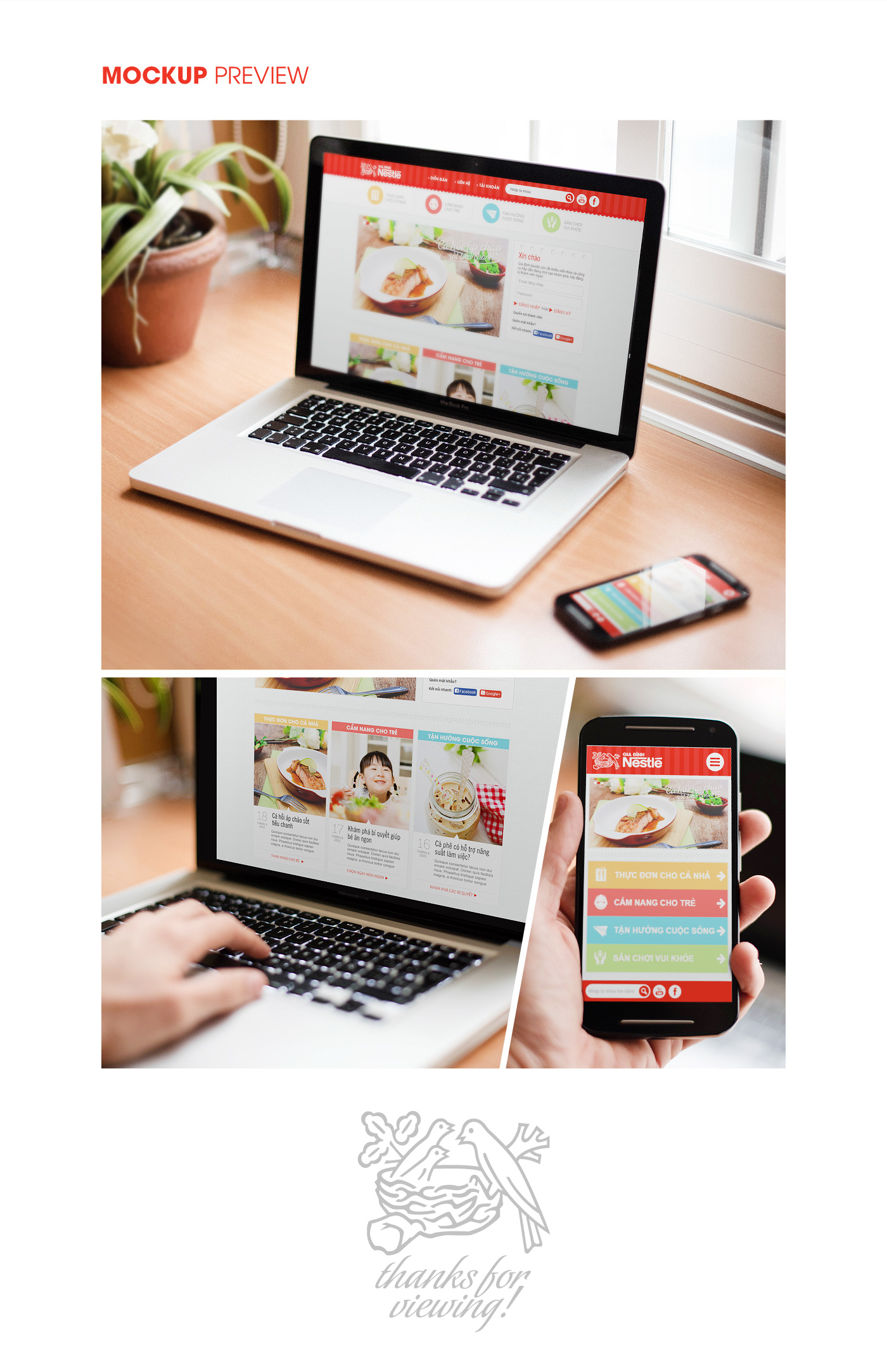 Nestlé Family Vietnam Website