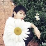 Hot boy Đà Lạt và hoa