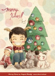 Merry X'mas to August Family
