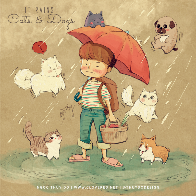 It Rains Cats And Dogs