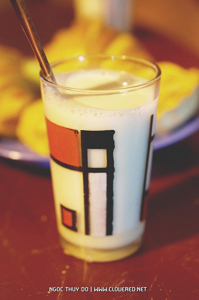 Sữa đầu nành buổi khuya