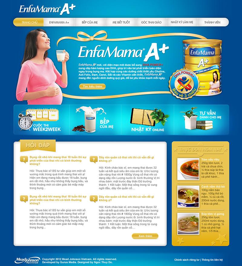 EnfaMama A+ | Homepage