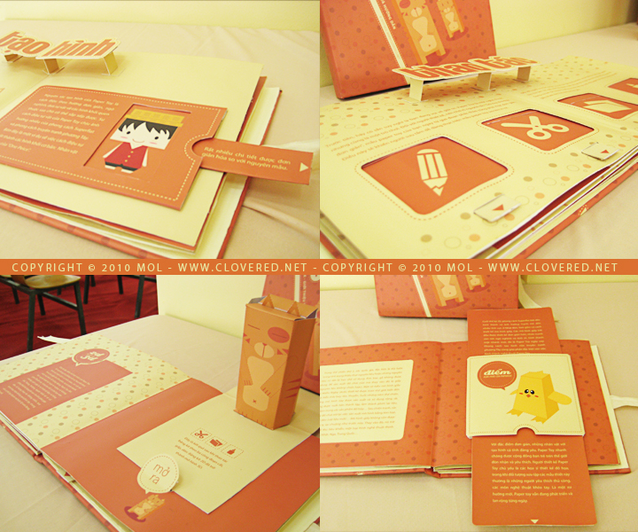 Movable Book - Inside