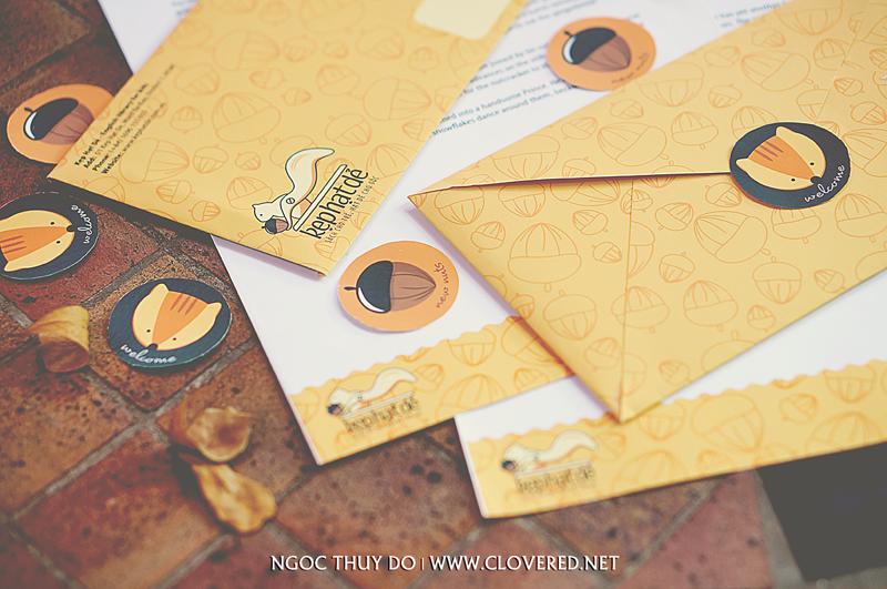Kẹt Hạt Dẻ - Letterhead & Envelope